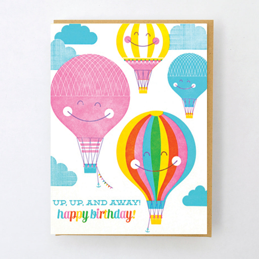 HL952 HOT AIR BALLOON BIRTHDAY