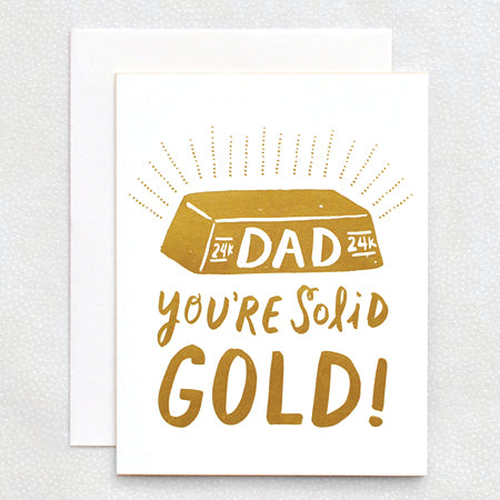 HL982 SOLID GOLD DAD