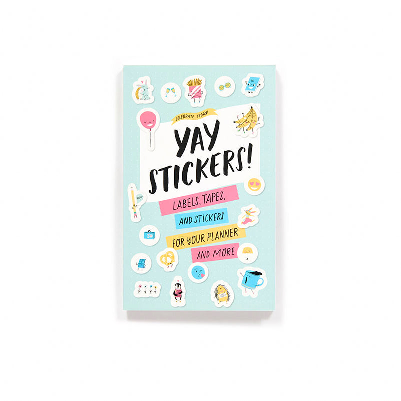 CELEBRATE TODAY:  YAY STICKERS! (STICKER BOOK)