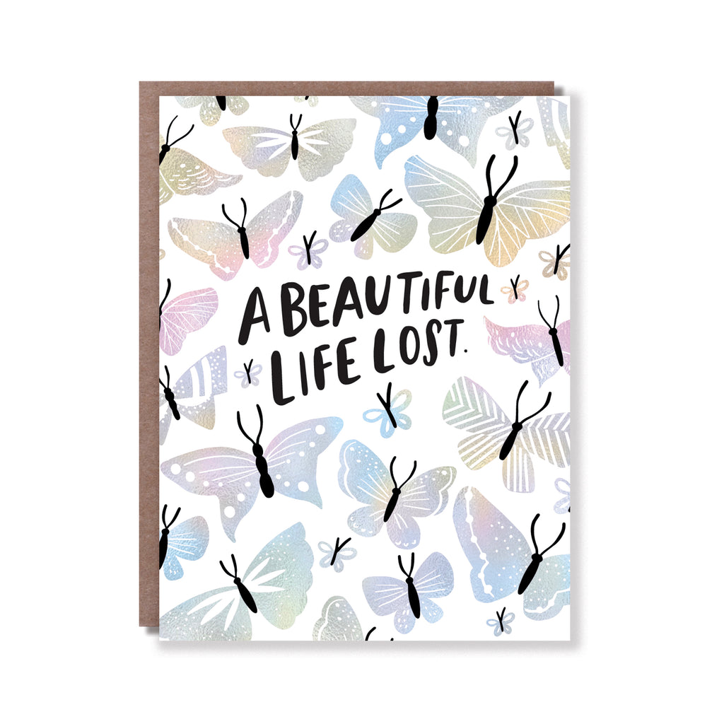 BEAUTIFUL LIFE LOST