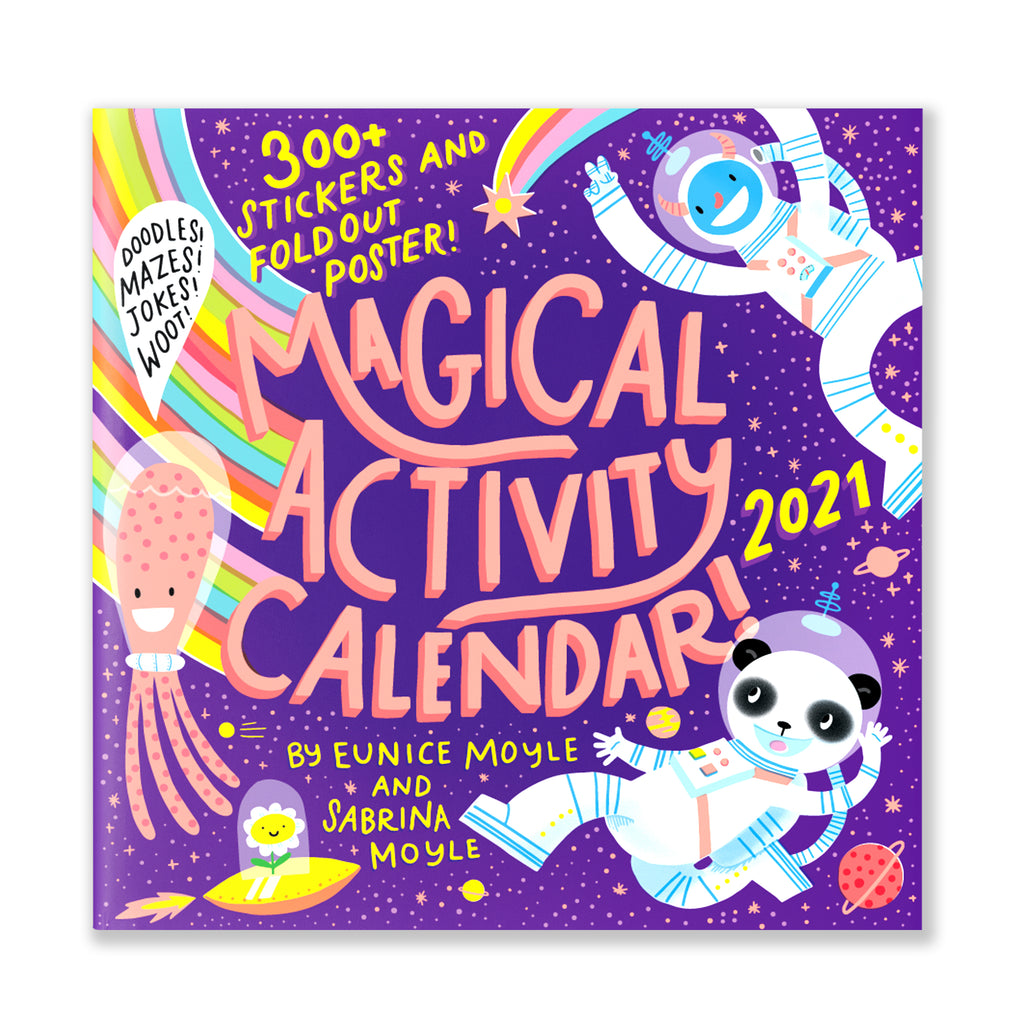MAGICAL ACTIVITY WALL CALENDAR 2021
