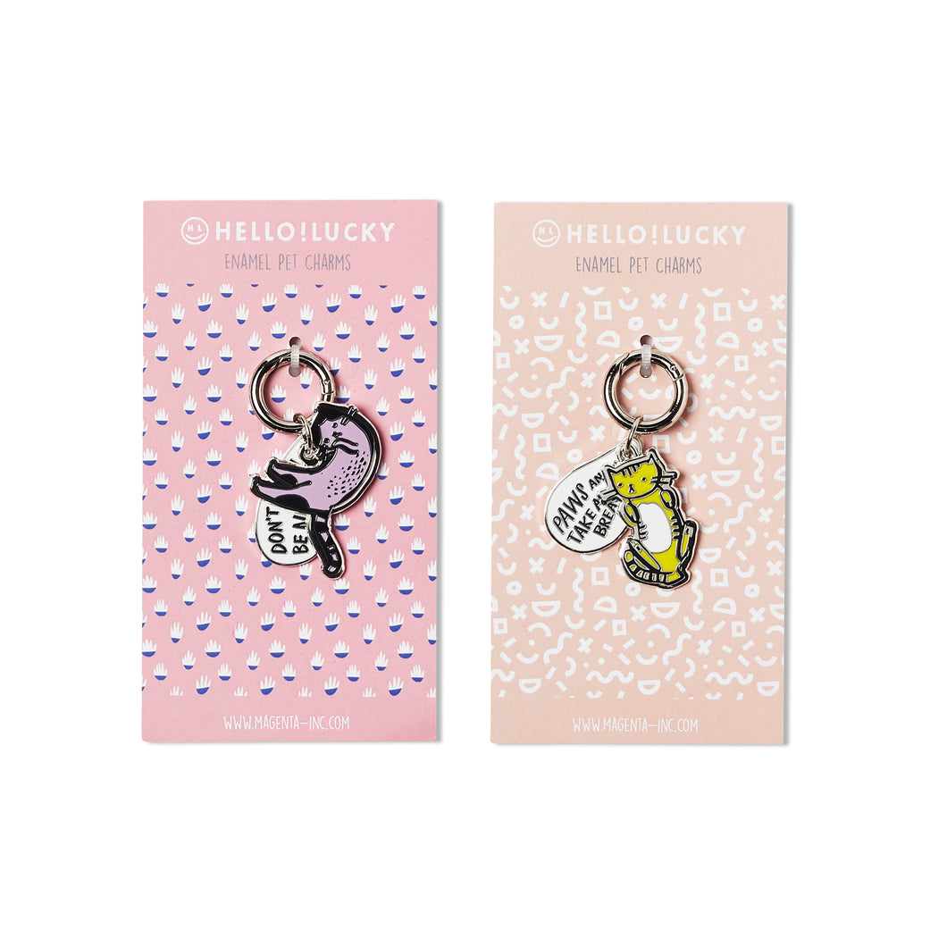 PURRFECTLY CHARMED PET TAGS