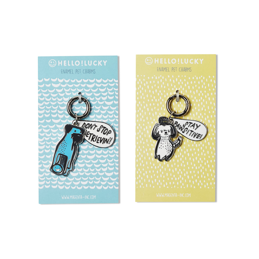 PAWSITIVELY CHARMED PET TAGS