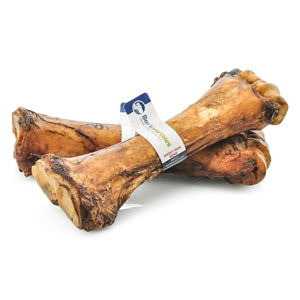 Barkworthies Smoky Shin Bone Dog Treats