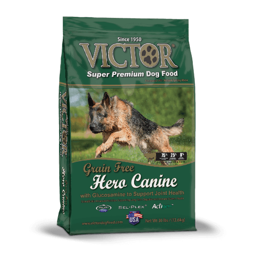 Hero Canine Grain Free – With Glucosamine for Joint Support - Dry Dog Food