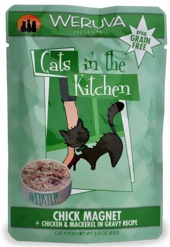 Weruva Cats In the Kitchen Chick Magnet Pouches Wet Cat Food