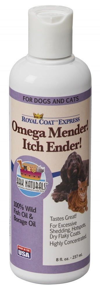 Ark Naturals Omega Mender! Itch Ender! Oil For Dogs & Cats