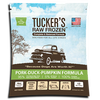 Tucker's Raw Frozen Pork - Duck - Pumpkin