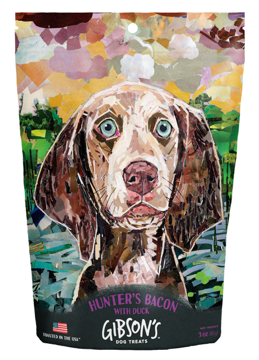 GIBSON'S HUNTER'S BACON WITH DUCK - JERKY DOG TREATS
