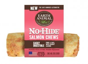 No-Hide Dog Chews - Salmon - Earth Animal