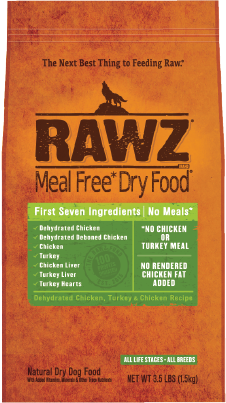 Rawz Chicken and Turkey Meal Free for Dogs