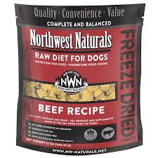 Northwest Natural Freeze Dried Nuggets for Dogs - Beef