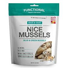 "The Honest Kitchen ""Nice Mussels"" Blue-Green Mussels Chews for Dogs"