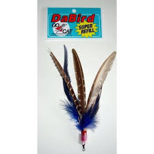 Go Cat Da Bird Feather Cat Toy - SUPER Refill