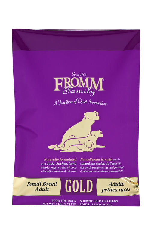 Fromm Family Small Breed Adult Gold Food for Dogs