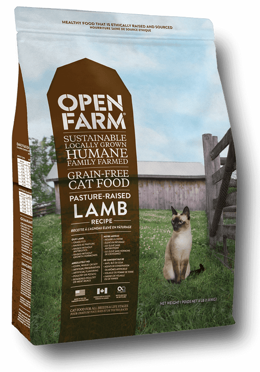 Open Farm Pasture Raised Lamb Recipe Grain Free Dry Cat Food