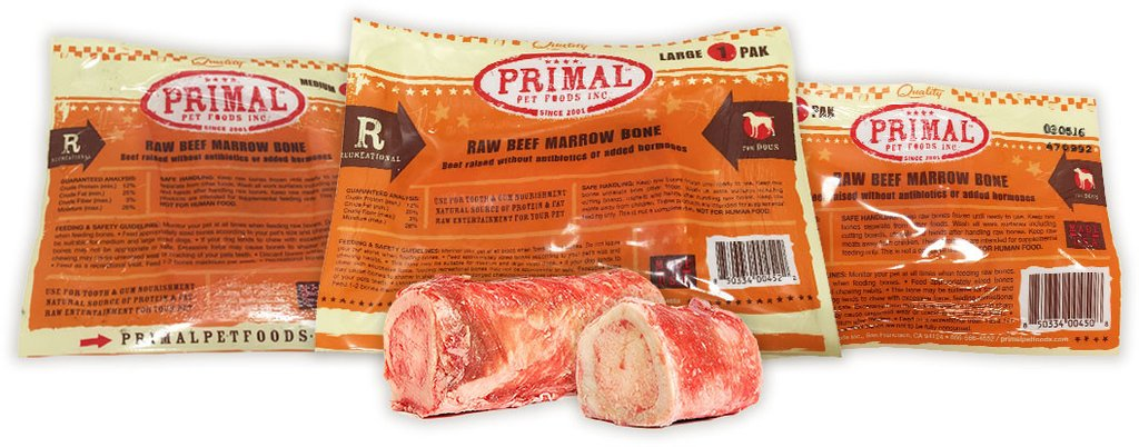 Primal Raw Frozen Recreational Bones for Dogs