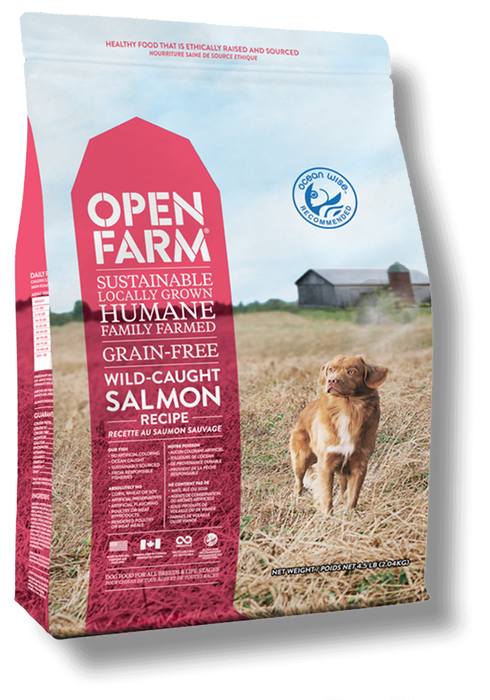 Open Farm Wild-Caught Salmon Recipe Grain Free Dry Dog Food