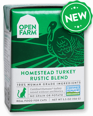 Open Farm HOMESTEAD TURKEY RUSTIC BLEND Grain Free for Cats