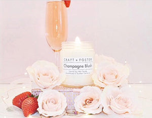 Champagne Blush Candle - Mcknz Boutique