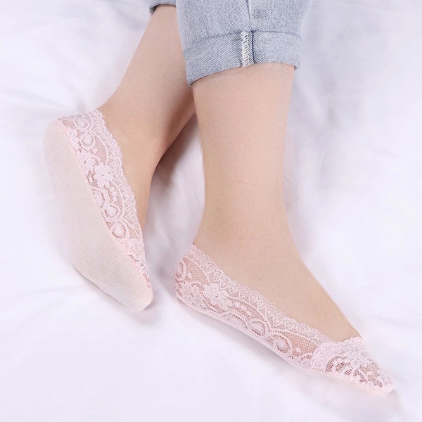 Lace Socks (3 pair) - Mcknz Boutique