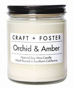 Orchid & Amber Candle - Mcknz Boutique