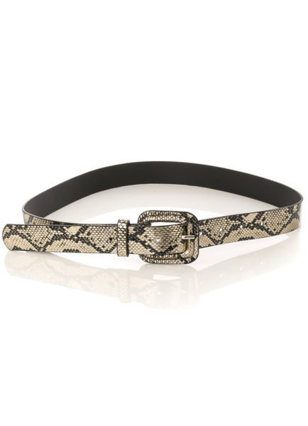 Animal Printed Belt - Mcknz Boutique