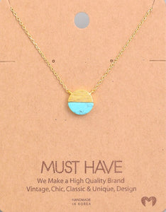 Layne Collection Turquoise Necklace - Mcknz Boutique