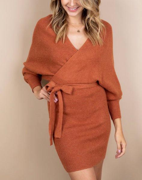 Busy Making Plans Sweater-Dress - Mcknz Boutique