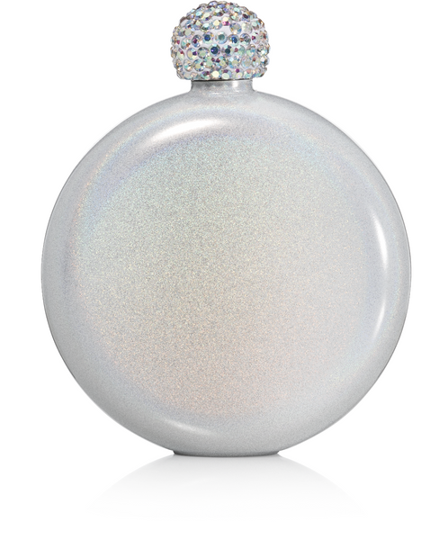 Glitter Flask | Ice White - Mcknz Boutique