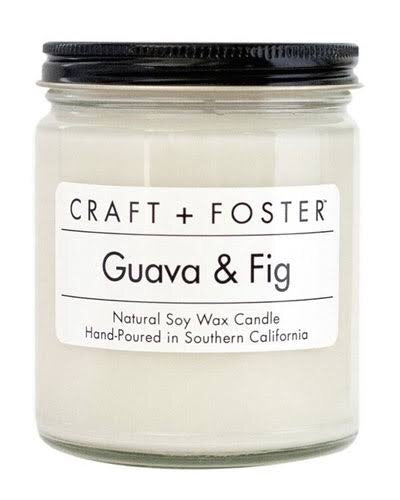 Guava & Fig Candle - Mcknz Boutique
