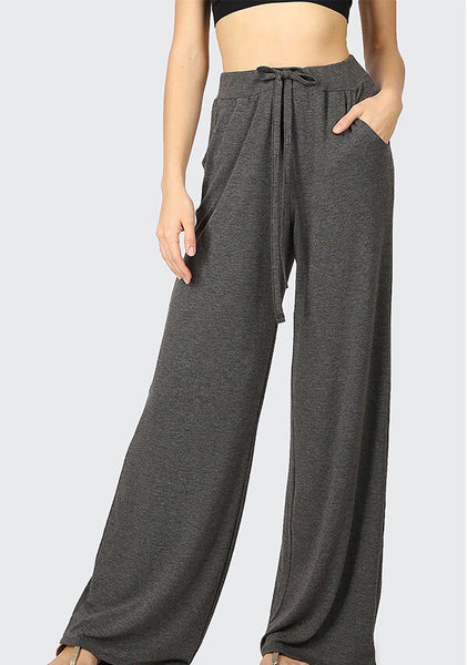 Lounge Pants (Charcoal) - Mcknz Boutique