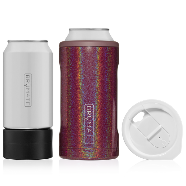 HOPSULATOR TRíO 3-in-1 | Glitter Merlot (16oz/12oz cans) - Mcknz Boutique