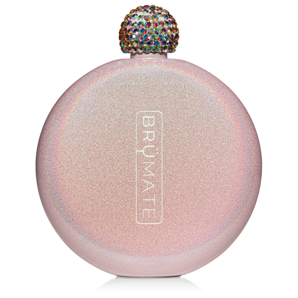 Glitter Flask | Blush - Mcknz Boutique