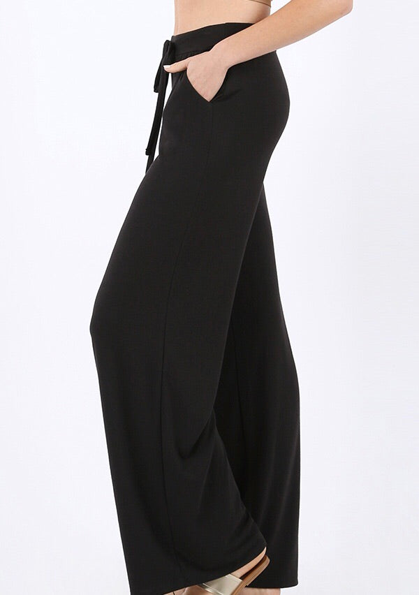 Lounge Pants (Black) - Mcknz Boutique
