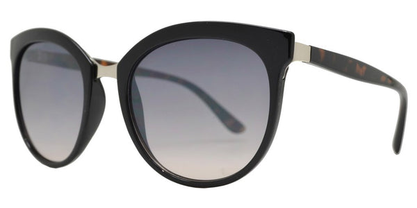 Fall In Love Sunglasses (Black-Gray Lens) - Mcknz Boutique