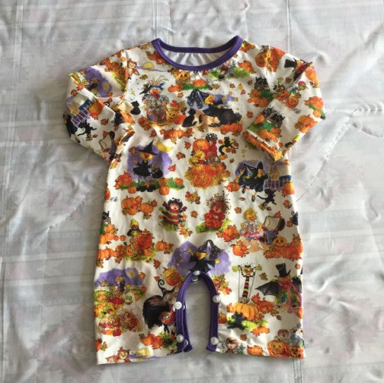 Halloween Baby Romper - AVA Boutique