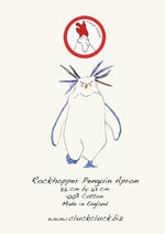 Load image into Gallery viewer, Rockhopper Penguin Apron