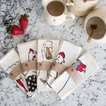 Load image into Gallery viewer, Tea towels from Cluck Cluck