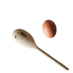 Load image into Gallery viewer, Edward Cockerel Wooden Spoon