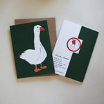 Load image into Gallery viewer, Goosey Gander Christmas Card