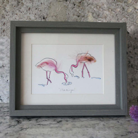Flamingo Mini print