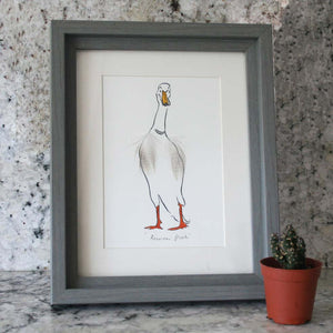 Runner Duck Mini Print