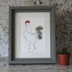 Load image into Gallery viewer, Edward Cockerel Mini Print