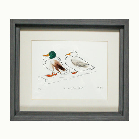 Mr & Mrs Duck Print