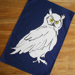 Load image into Gallery viewer, Owl Colour Tea Towel