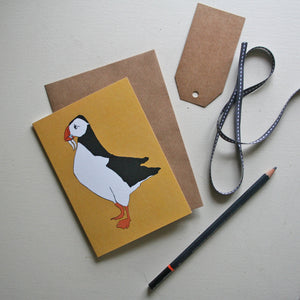 Puffin Yellow Card