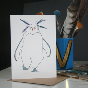 Rockhopper Penguin card