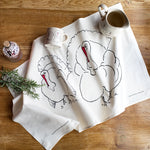 Load image into Gallery viewer, Turkey Tea towel from Cluck Cluck!