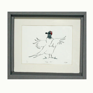 Take Off Pheasant Print